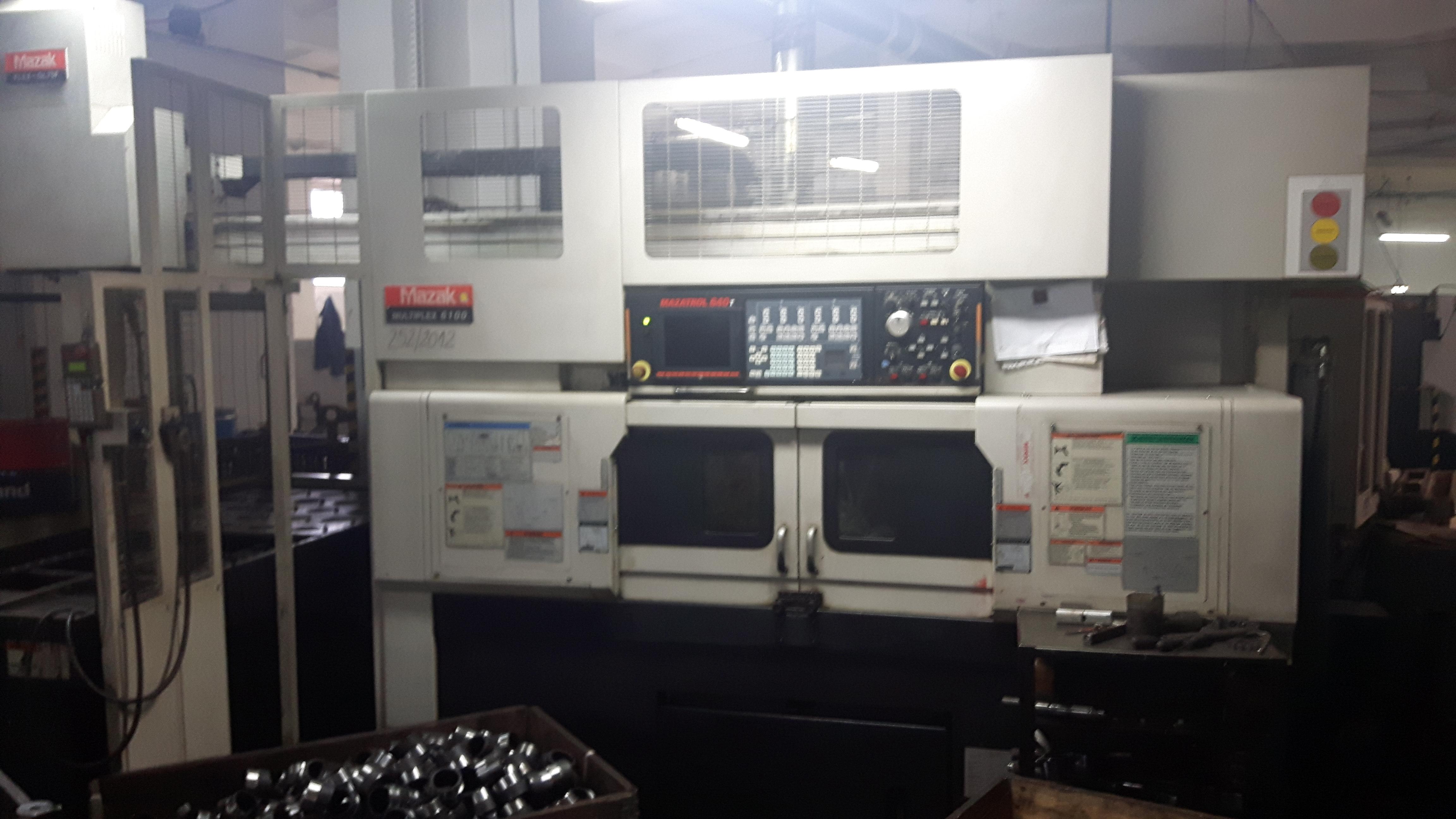 CNC Dreh- und Fräszentrum MAZAK Multiplex 6100